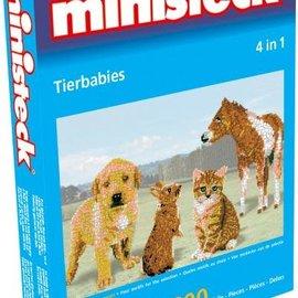 Ministeck Ministeck Jonge dieren 4in1 (ca. 2300 stukjes)