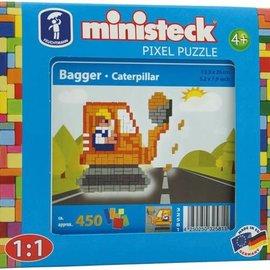 Ministeck Ministeck Graafmachine ca. 450 stukjes