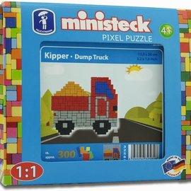 Ministeck Ministeck Kiepwagen ca. 300 stukjes
