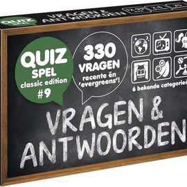 Spellen diverse Vragen + Antwoorden - Classic edition 9