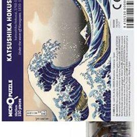 Kikkerland Micropuzzel- classic art mix (katsushika hokusai)