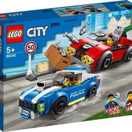 Lego Lego 60242 Politiearrest op de snelweg