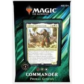 Magic The Gathering Magic The Gathering - Commander 2019 - Primal Genesis