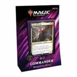 Magic The Gathering Magic The Gathering - Commander 2019 - Merciless Rage