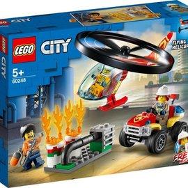 Lego Lego 60248 Brandweerhelikopter reddingsoperatie
