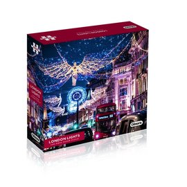 Gibsons Gibsons puzzel London Lights, Regent Street (1000 stukjes)