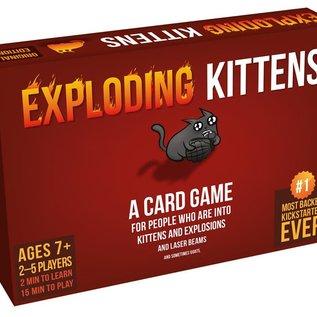 Spellen diverse Exploding Kittens Originele editie (Engels)