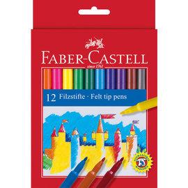 Faber-Castell Faber-Castell Viltstiften 12 stuks