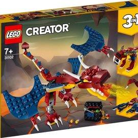 Lego Lego 31102 Vuurdraak