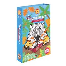 Tiger Tribe TigerTribe 3D Colouring Sets/Fierce Creatures