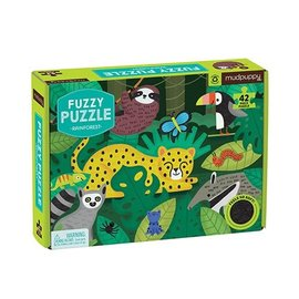 Mudpuppy Mudpuppy Fuzzy puzzel Regenwoud