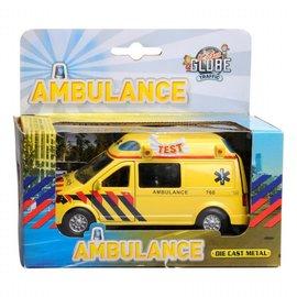 Kids globe Kids Globe Ambulance met licht en geluid