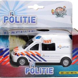 Kids globe Kids Globe Politiebusje met licht en geluid