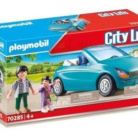 Playmobil Playmobil - Papa met cabrio (70285)