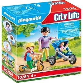 Playmobil Playmobil - Mama met Kinderen (70284)