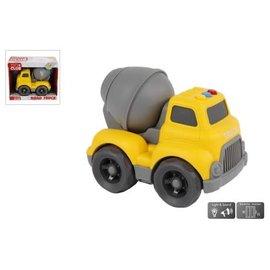 Mini Club Mini Club cementwagen met licht en geluid free wheel 16cm