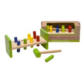 2-Play Hamerbank hout 23,5x9x10,5 cm