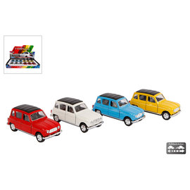 Renault 4 pull back 4ass kleur 1:38