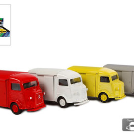 Citroen Type H pull back 4ass kleur 1:38