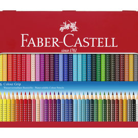 Faber-Castell Faber-Castell kleurpotlood GRIP metalen etui a 36 stuks