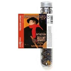 Londji Londji puzzel Micro 150 stukjes classic art mix Toulouse-Lautrec Ambassadeurs