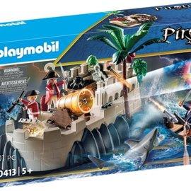 Playmobil Playmobil Vesting van de soldaten (70413)