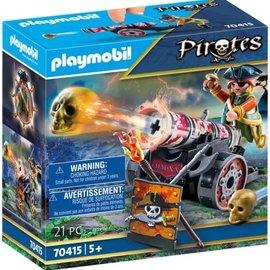 Playmobil Playmobil Piraat met kanon (70415)
