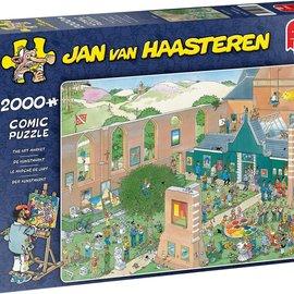 Jumbo Jan van Haasteren puzzel - De Kunstmarkt (2000 stukjes)
