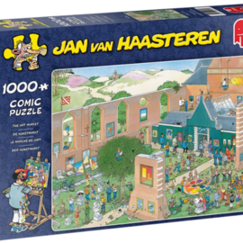 Jumbo Jan van Haasteren puzzel - De Kunstmarkt (1000 stukjes)