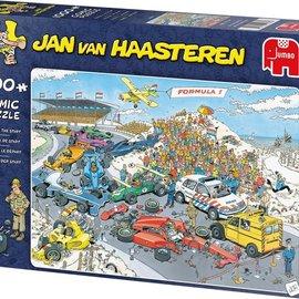 Jumbo Jan van Haasteren puzzel - Formule 1 De Start (1000 stukjes)