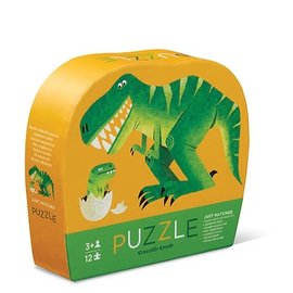 Crocodile Creek Crocodile Creek puzzel Net uitgekomen 22x30 cm  (12 stukjes)