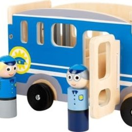 Small Foot Grote politieauto (hout)