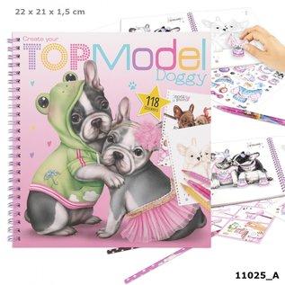 TopModel Topmodel Create your Doggy kleurboek