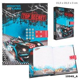 TopModel Monster Cars Dagboek met geheime code