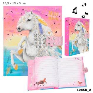 TopModel Miss Melody dagboek met geheime code