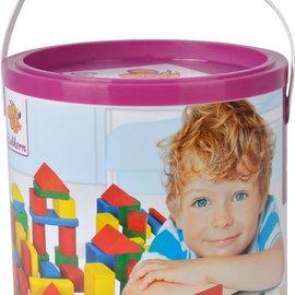 Eichhorn Eichhorn Houten blokken gekleurd (100 stuks)