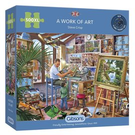 Gibsons Gibsons puzzel A Work of Art (500 XL stukjes)