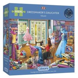 Gibsons Gibsons puzzel Dressmaker's Daughter (500 XL stukjes)