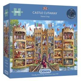 Gibsons Gibsons puzzel Castle Cutaway (1000 stukjes)
