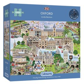 Gibsons Gibsons puzzel Oxford (1000 stukjes)