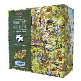 Gibsons Gibsons Best of British - Gift Box (500 stukjes)