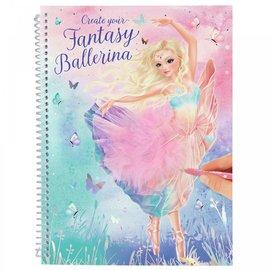 TopModel Create your Fantasy Model kleurboek BALLET