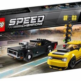 Lego Lego 75893 Dodge Challenger en Dodge Charger