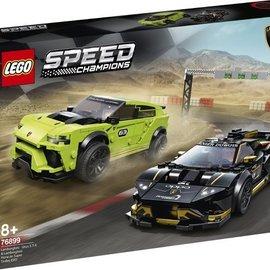 Lego Lego 76899 Lamborghini Huracan Super Trofeo EVO vs Urus STX