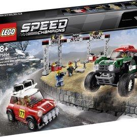 Lego Lego 75894 Mini Cooper S en Mini John Cooper Works buggy