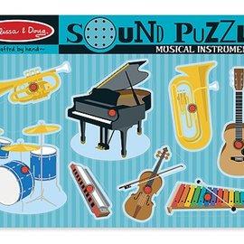 Melissa & Doug Melissa & Doug Geluidenpuzzel instrumenten