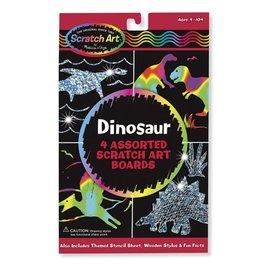 Melissa & Doug Melissa & Doug Scratch Art - Dinosaurussen