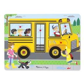 Melissa & Doug Melissa & Doug Geluidenpuzzel Wielen van de bus