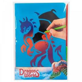 Dino World Dino World Magic Scratch kaarten DRAGON