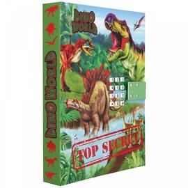 Dino World Dino World dagboek met geheime code